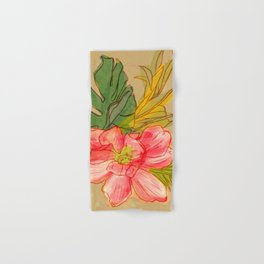Tropical Still Life Bouquet Hand & Bath Towel