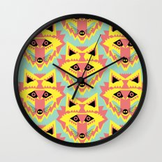 Fabulous Fox Wall Clock