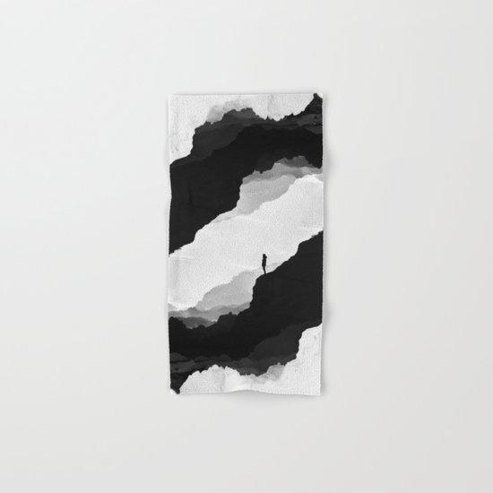 White Isolation Hand & Bath Towel