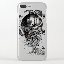 Lost Translation Clear iPhone Case