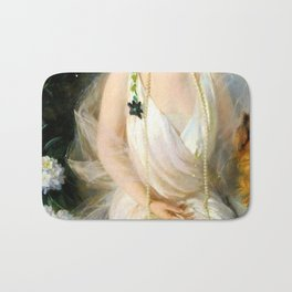 Portrait of Agnes Marsh Bath Mat
