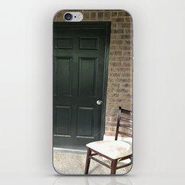 The dark door iPhone Skin