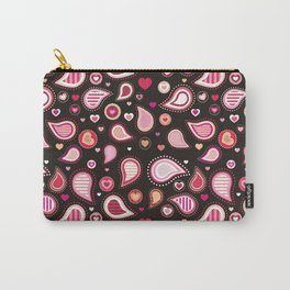 Pasley Burgundy Carry-All Pouch