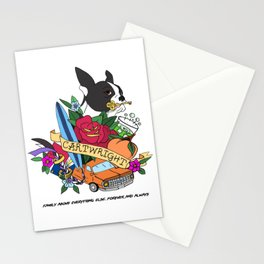Cartwright Brothers - Fool Series - Coat of Arms Stationery Cards