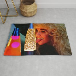 From a Proud Lineage of Qualified Lava Lamp Inspectors Rug