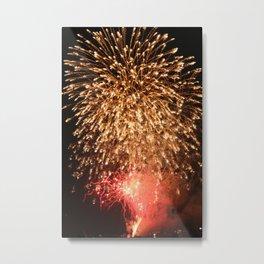 Fireworks 001 Metal Print