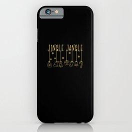 The Jingle Jangle - XMas Rudolph Christmas iPhone Case