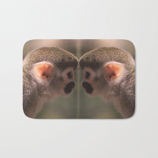 Mirror monkeys Bath Mat