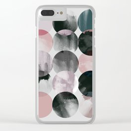 Minimalism 16 Clear iPhone Case