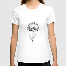 Caléndula Flower T-shirt