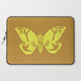 We Must Learn to Help Each Other -Mothra vs. Godzilla Laptop Sleeve