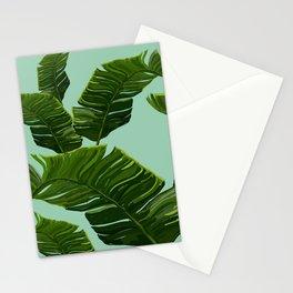 Hawaii Palm Tree Leaves Stationery Cards