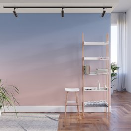 Pantone Rose Quartz and Serenity Ombre Wall Mural