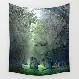 ANCIENT WATCH Wall Tapestry