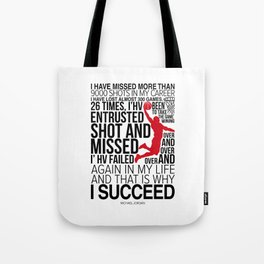 M. Jordan Motivation Tote Bag