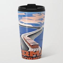 Vintage poster - Zermatt Travel Mug