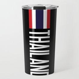 Thailand: Thai Flag & Thailand Travel Mug