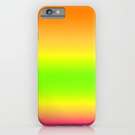 Summer Colors Gradient iPhone Case