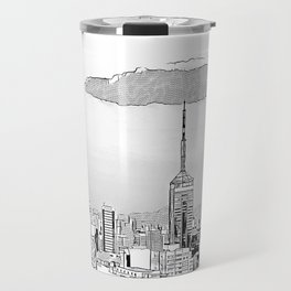 Sao Paulo -Art Travel Mug