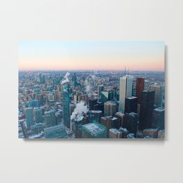 Toronto Sunset Metal Print