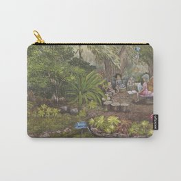 Faerie Garden Letters Carry-All Pouch