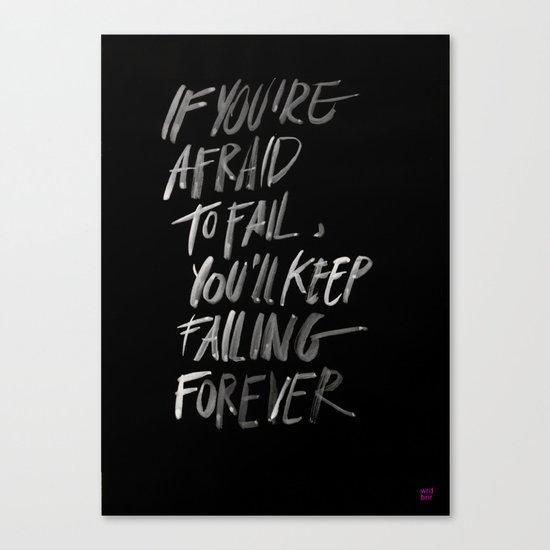 FAILFOREVER Canvas Print