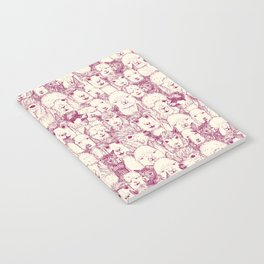 just alpacas cherry pearl Notebook