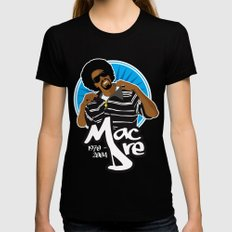 Andre 'Mac Dre' Hicks Womens Fitted Tee X-LARGE Black