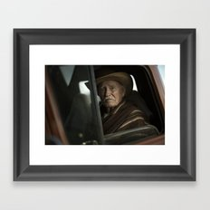 Joshua Tree Portrait 2 Framed Art Print