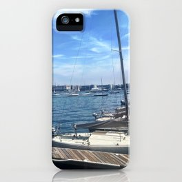 Sail On iPhone Case