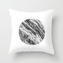 Yosemite- Washington Column Circle 1 Throw Pillow