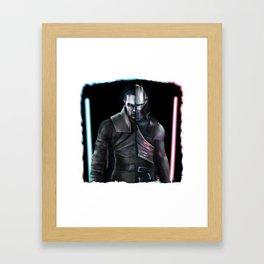 Starkiller duality Framed Art Print