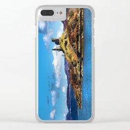 Castle Moil, Kyleakin. Clear iPhone Case