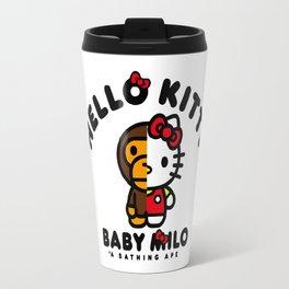 milo kitty Travel Mug