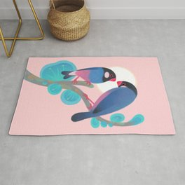 Java sparrows Rug