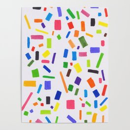 Squares and Rectangles. Poster