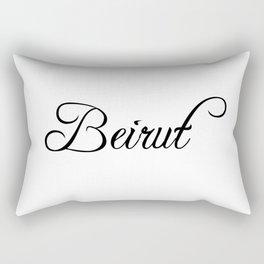 Beirut Rectangular Pillow