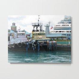 Tug Boat 2 Metal Print