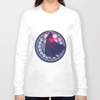 darth vader Long Sleeve T-shirts featuring Darth Vader  by NicoleGrahamART