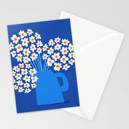 Abstraction_FLORAL_Blossom_001 Stationery Cards