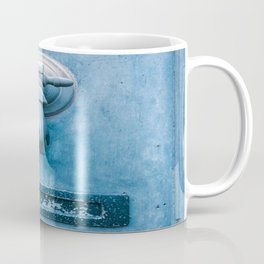 Blue Doorknocker Coffee Mug