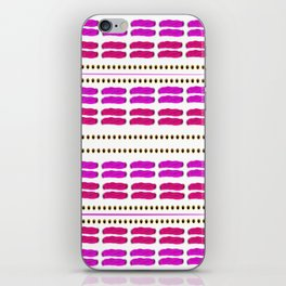 Stitch for stitch in pink iPhone Skin