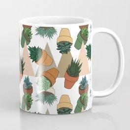 Tumbling Succulents Coffee Mug