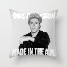Made in the A.M Niall Throw Pillow