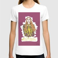 lannister T-shirts featuring Cersei by JessicaJaneIllustration