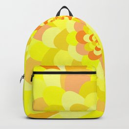 Bloom pattern Backpack