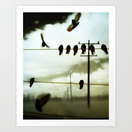 Lines Of Communication Art Print