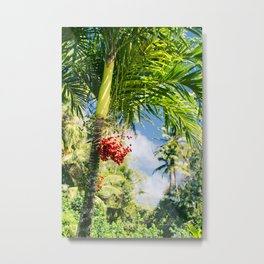 Keanae Palm Beauty Metal Print