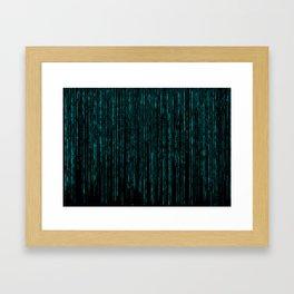 Matrix (6) Framed Art Print