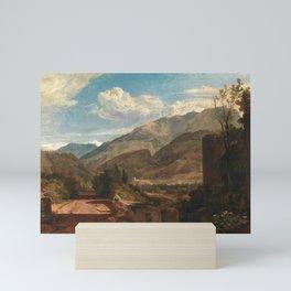 william turner Chateau de St. Michael, Bonneville, Savoy - 1803 Mini Art Print